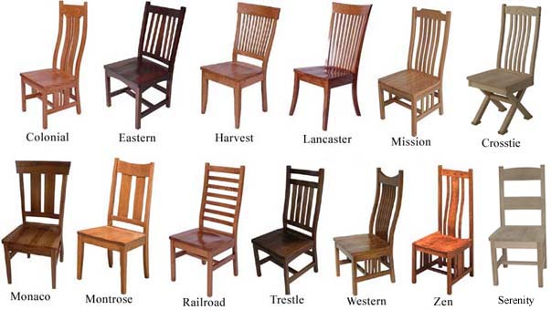 Chairs benches and barstools for All types of chairs
