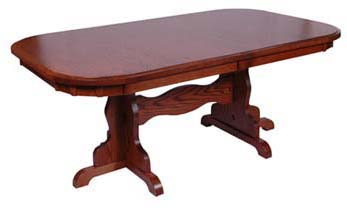 Colonial dining room table