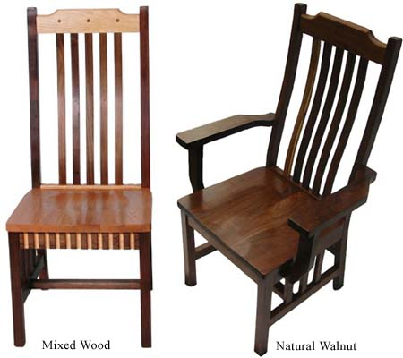 mission dining room chairs