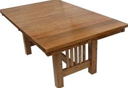 50 X 36 Quarter Sawn Oak Mission Dining Room Table